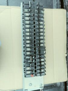 200 amp Challenger Breaker Panel Guts With Breakers