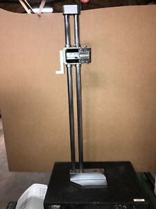 Mitutoyo 0 24 Inch 600mm Digimatic Electronic Height Gage