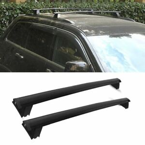 Black For 11 18 Jeep Grand Cherokee Roof Rack Cross Bar Luggage Carrier Durable