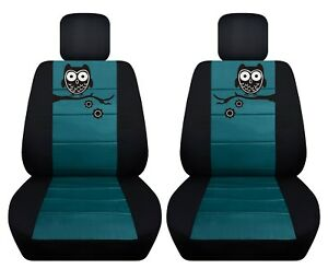 Fits 2011 2018 Toyota Yaris Front Set Car Seat Covers With Owl Design