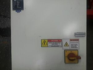 20x20x8 Wiegmann Electrical Incloser With Inside Back Panel