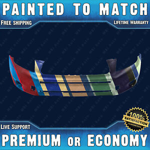 Painted To Match Front Bumper Cover Replacement For 2006 2008 Toyota Rav4 Suv