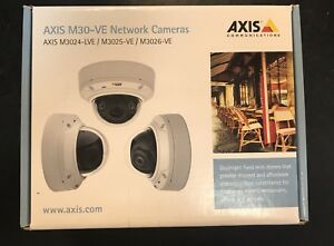 Axis Security Camera M3024 lve Network Dome Camera New Sealed In Box