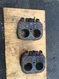Wisconsin Vh4d Engine Cylinder Block Jug Pistons Aa98