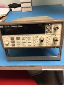 Hp Universal Counter 53131a With 3 Channels 225mhz