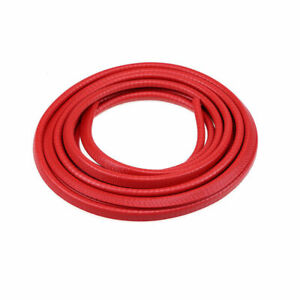 4 5m Rubber Red Seal Flexible Strip Edge Guard For Car Door Window Line Trim New