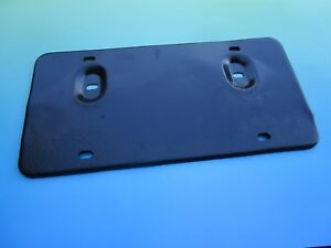 Reconditioned Oem Front Bumper License Plate Mgb Mg Midget Austin Healey Sprite