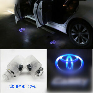 2pcs For Toyota Auto Door Light Car Led Logo Projector Ghost Shadow Laser Lights
