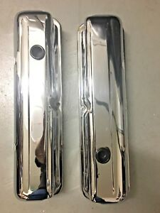 Ford Mercury T Bird 62 63 64 65 66 390 406 427 Chrome Valve Covers Old School