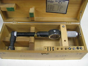 Standard Dial Bore Gage right Angle size 3 range 1 5 2 16 X 0001 item A3