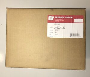 Federal Signal 300gc 120 Selectone Horn Siren Speaker