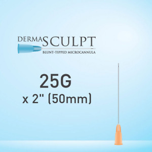 Dermasculpt Facial Filler Injection Microcannula 25g X 2 50mm Eo b 006