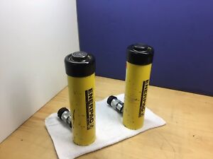 Enerpac Rc156 Nice Hydraulic Cylinder 15 Tons 6in Stroke L