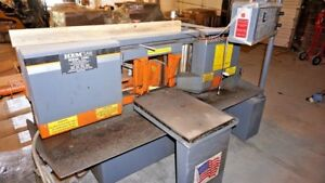 Hem 12 75 X 12 75 Horizontal Band Saw H90a 4 Year 2009