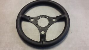 Vintage Formuling 3 Spoke Steering Wheel Classic Porsche Vw Empi Custom Rat Rod