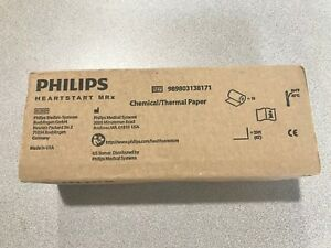 Philips Heartstart Mrx Thermal Paper 75mm Box Of 10