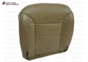 1995 1996 1997 1998 1999 Chevy Tahoe Bottom Seat Covers Tan Choose Leather vinyl