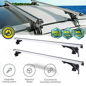 2pcs 48 Car Top Luggage Roof Rack Cross Bar Carrier For Toyota Scion Mazda