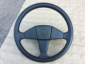 Opel Kadett E Oem Sport Steering Wheel 3 Spoke