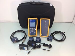Fluke Dtx 1800 Cat 6a Cable Analyzer W Accessories Tested Ships Today