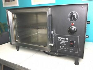 1 4 Sheet Mini Convection Oven Table Top Wisco 608 1 Super Commercial Nsf