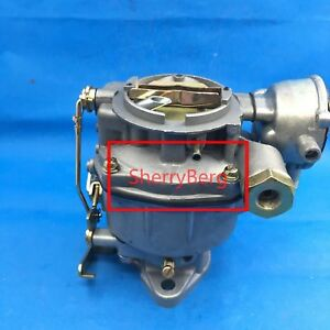 New Carb Replace Rochester 1 barrel 1957 1961 Chevy Gmc Carburetor 235 Eng