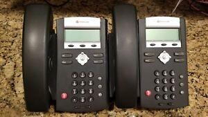 2 Polycom Soundpoint Ip330 Sip Telephones 2201 12330 001