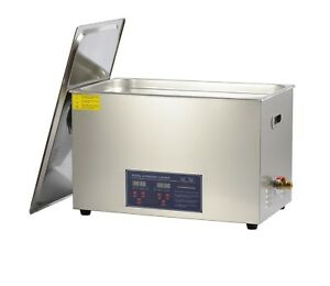 30l Commecial Ultrasonic Jewelry Cleaner For Parts Brass Eyeglass Circuit Board