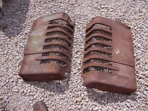 John Deere B Styled Tractor Orignl Jd Front Nose Cone Grill Hood Panel Panels B9