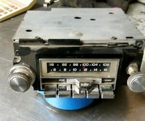 Delco Gm Vintage Car Radio