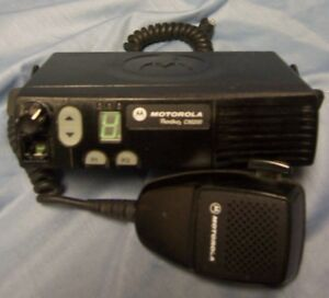 Motorola Cm200 Vhf Mobile Radio 45 Watt 4 Chan Excellent