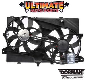 Radiator Cooling Fan W controller 3 5l 3 7l For 07 14 Ford Edge