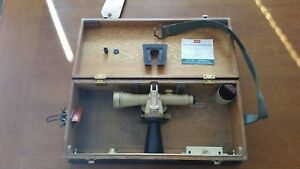 Excellent Keuffel Esser Survey Engineers Plane Table Transit W Wood Case
