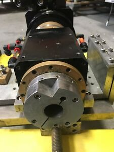 Working Precitech 50 000 Rpm Air Bearing Tool Spindle With Horizontal Mount