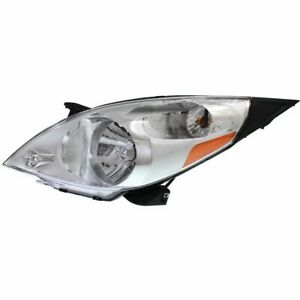 Headlight For 2013 2015 Chevrolet Spark Left With Bulb Clear Lens Halogen