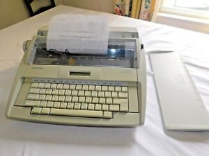 Brother Gx 8250 Daisy Wheel Electronic Typewriter Working Condition j43