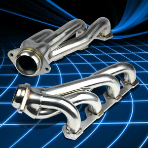 For 94 95 Mustang Gt Gts Svt 5 0 8cyl Stainless Shorty Header Manifold Exhaust
