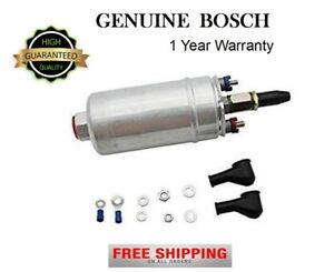New Bosch Motor Sports Genuine 044 Fuel Pump 300lph With Kits 0580254044