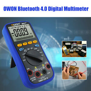 Owon B41t Bluetooth 4 0 Lcd Digital Multimeter Tester Thermometer Ac Dc Voltage