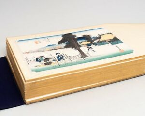 50 Japanese Woodblock Prints From Hiroshige S 53 Stations On The Tokaido Road