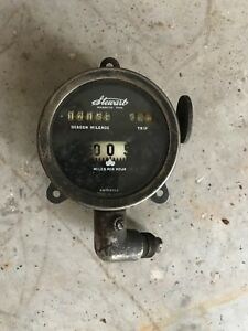 Antique Stewart Car Motorcycle Speedometer