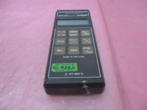 Omega Hh23 Microprocessor Thermometer Type J k t Thermocouple 450408