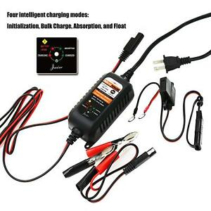 Automatic Battery Charger Motorcycle Float Trickle Tender Maintainer 12v 800ma