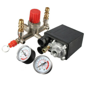 175psi Air Compressor Pressure Switch Control Valve Manifold Regulator