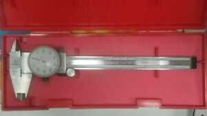 Mitutoyo 505 637 50 0 6 Dial Caliper Pre owned Ships Fast