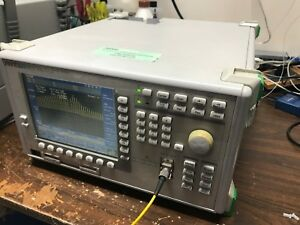 Anritsu Ms9710a Optical Spectrum Analyzer Osa 600nm 1750nm Option 02