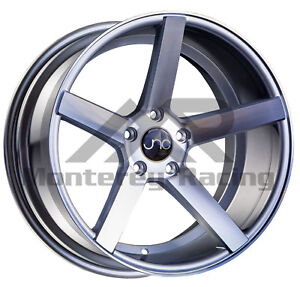 18x8 5x108 Jnc 026 Silver Machine Made For Ford Volvo