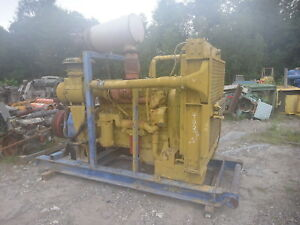 Caterpillar 3406e Industrial Power Unit Diesel Engine 500 Hp Cat National C195