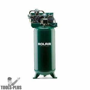 Rolair V5160pt03x Single Stage Compressor 5hp 60 Gal New