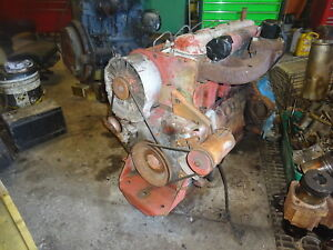 Deutz F4l912 Diesel Engine Runs Exc 912 F4l Video Ditch Witch Compressor